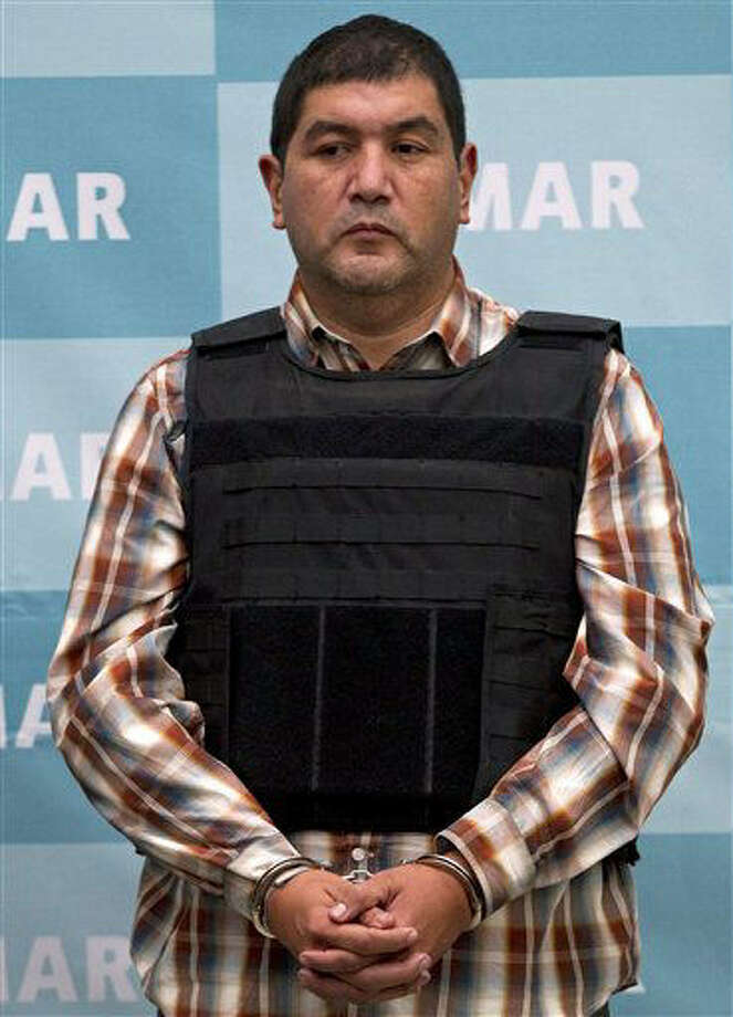 "Iván Velázquez Caballero, known as ""El Taliban,"" had been called a leader of a faction of the Zetas cartel. Photo: Associated Press File Photo"