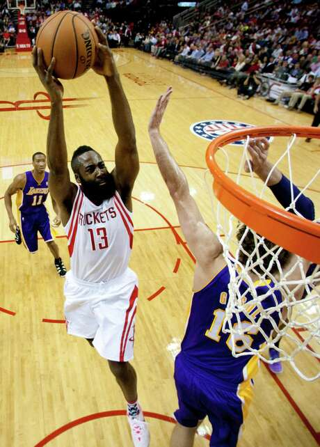 The Rockets rely on James Harden down the stretch for much of their offensive punch. Photo: Brett Coomer, Staff / © 2013 Houston Chronicle