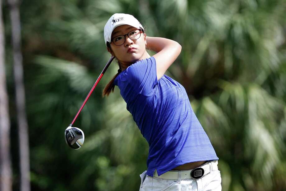 Lydia Ko, who won two LPGA tournaments as an amateur, is seven shots back after the first round of her professional debut in the Titleholders at Naples, Fla. Photo: Sam Greenwood, Staff / 2013 Getty Images