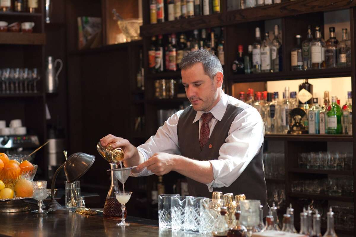 Bar: As in sidle up to the bar. Apparently, not everyone uses this to mean the business in which the bar is housed.