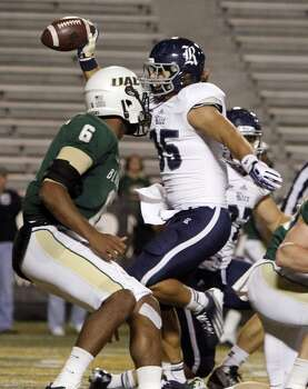 Nov. 21: Rice 37, UAB 34Record: 8-3  Rice running back Luke Turner (35) celebrates as he crosses the goal line for a touchdown. Photo: Butch Dill, Associated Press