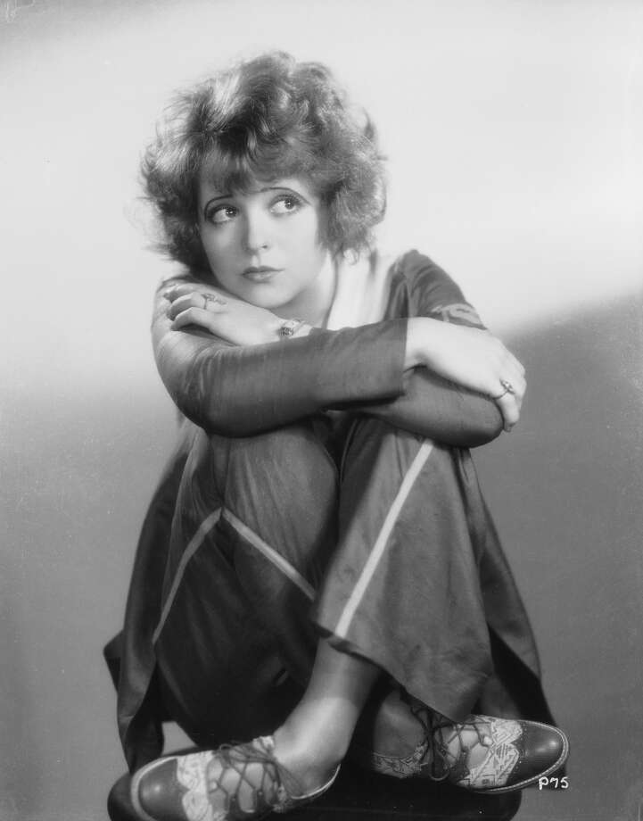 "Hollywood film starlet Clara Bow starred in the film called ""It."" Photo: Otto Dyar, Getty Images"