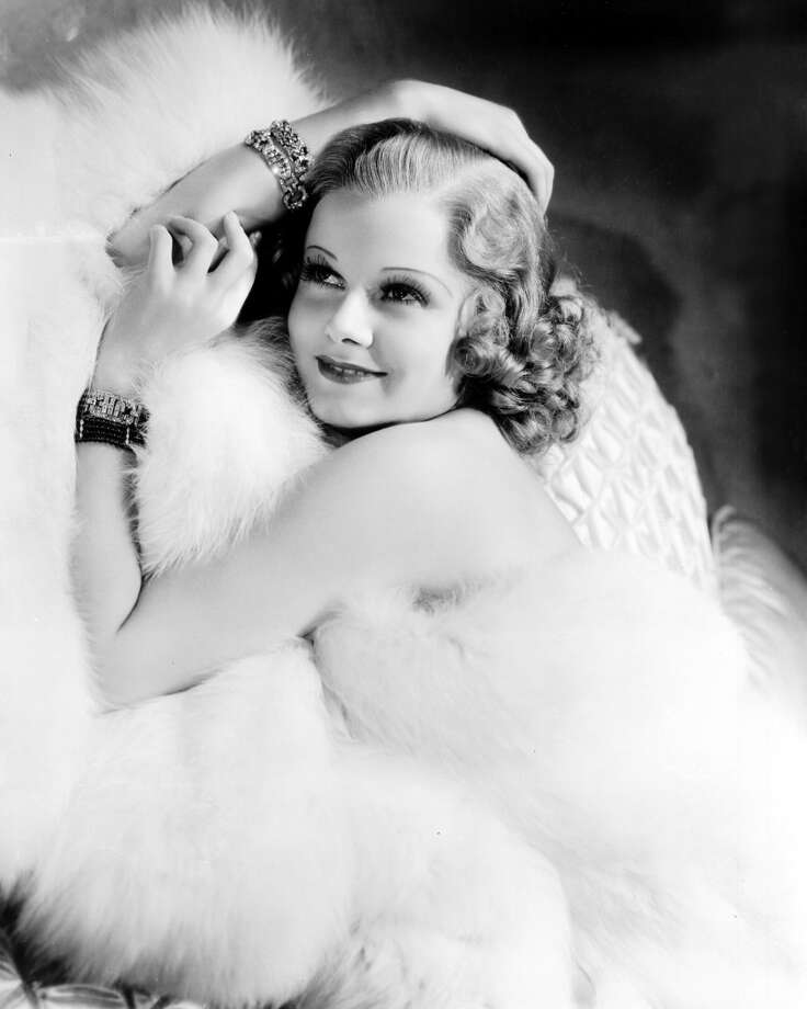 "Although she died at 26, MGM actress Jean Harlow quickly came to define the ""blonde bombshell"" look of the 1930s. Photo: Silver Screen Collection, Getty Images"