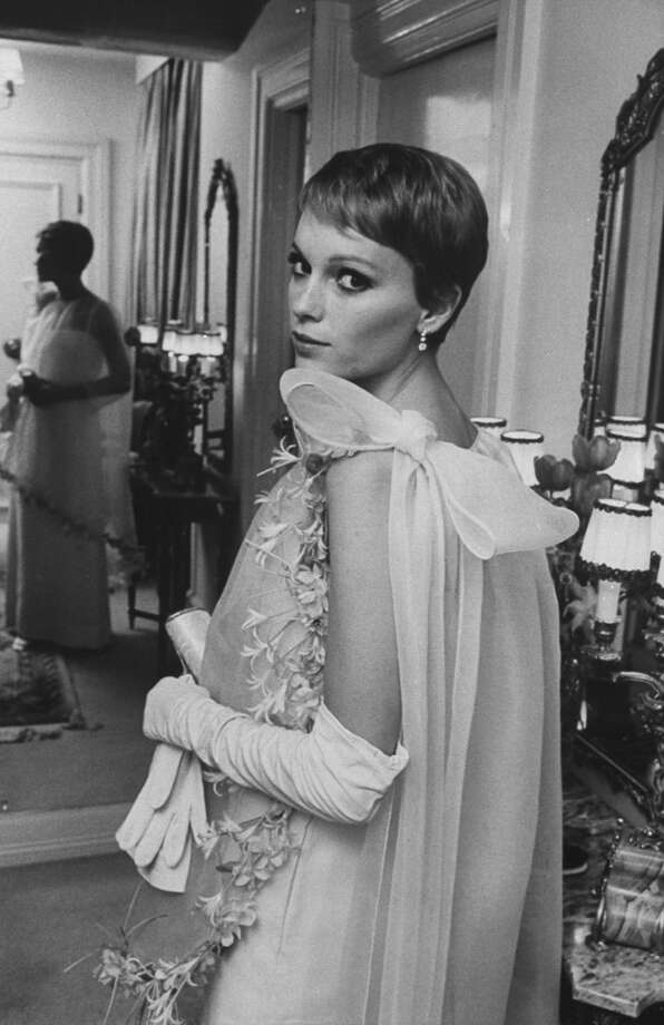 Actress Mia Farrow inspired legions of pixie cuts, married Frank Sinatra and was a muse to Woody Allen. Photo: Bill Eppridge, Time & Life Pictures/Getty Image