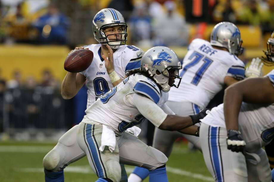 Tampa Bay (2-8) plus-8 ½ at Detroit (6-4):  Lions 30-17 Photo: Gene J. Puskar, Associated Press