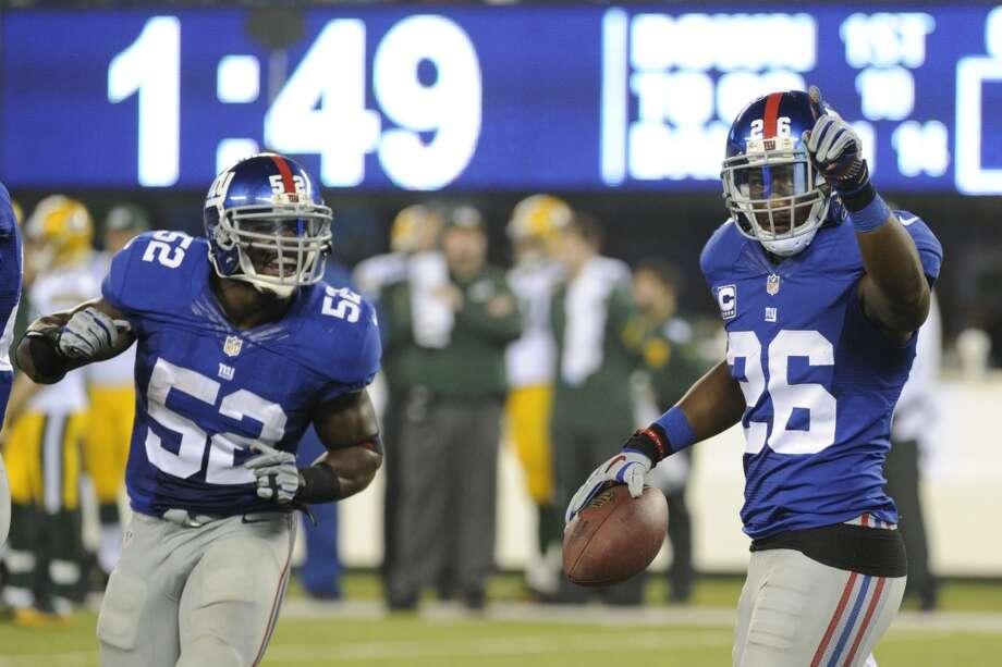 Dallas (5-5) plus-2 ½ at NY Giants (4-6):  Giants 24-23 Photo: Bill Kostroun, Associated Press