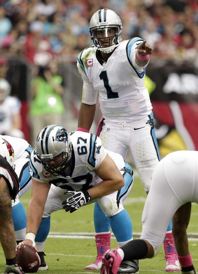 Carolina (7-3) minus-4 ½ at Miami (5-5):  Panthers 19-16 Photo: Rick Scuteri, Associated Press