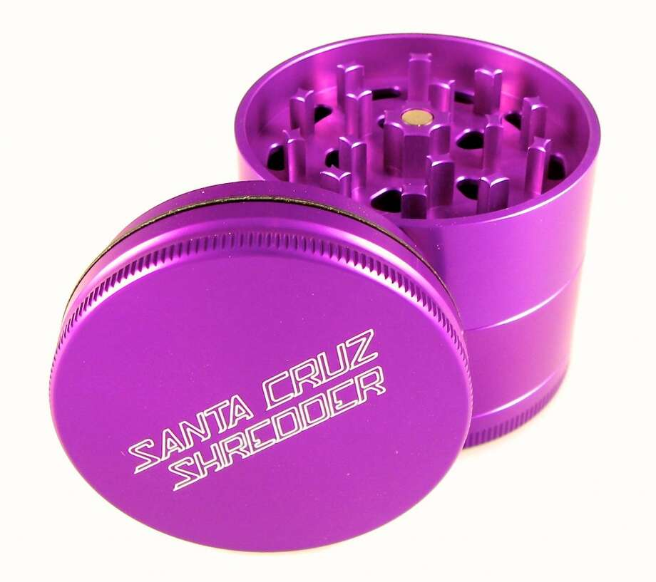Santa Cruz Shredder's milled aluminum square teeth shred and fluff instead of smashing precious herb. Comes in a bunch of cool anodized colors. $40/$70/$125. Photo: David Downs