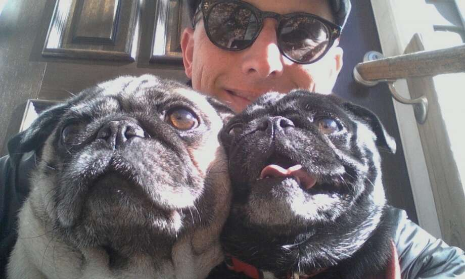 """Jason Caterina and """"the weather pugs."""""""
