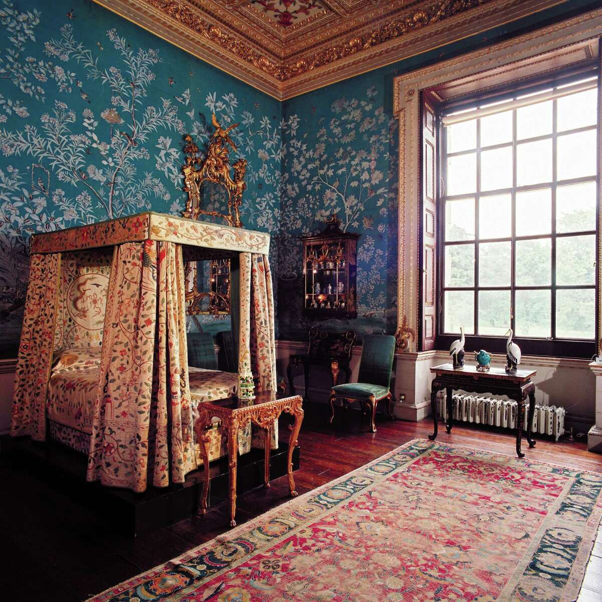 """Items from the Cabinet Room will be among the works on view in """"Houghton Hall: Portrait of an English Country House."""" The exhibit opens its US tour at the Museum of Fine Arts, Houston June 22 - Sept. 21, 2014."""