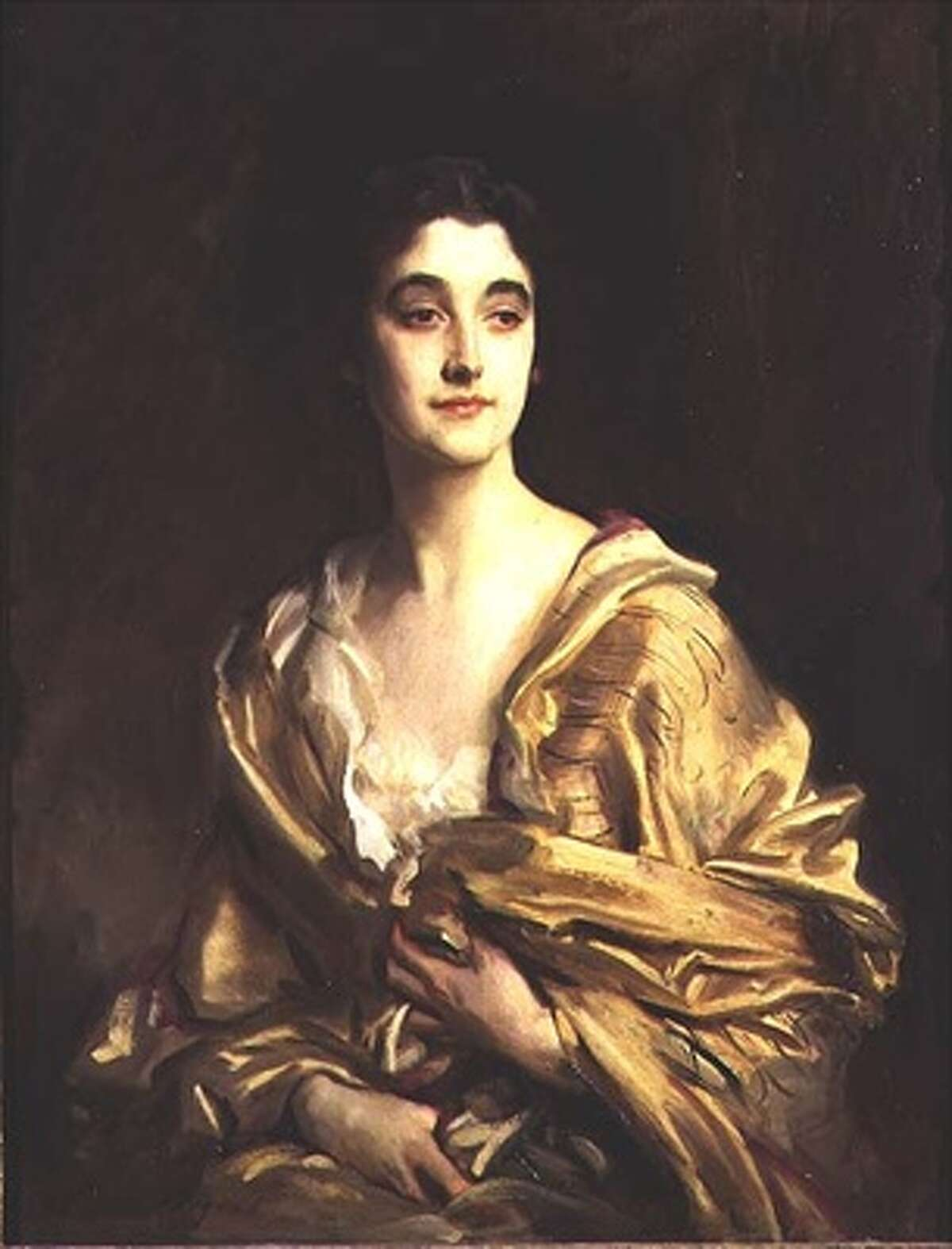 """Among works on view in """"Houghton Hall: Portrait of an English Country House"""" is John Singer Sargent's """"Portrait of Sybil, Countess Rocksavage, later Marchioness of Cholmondeley."""" Lady Sybil reinvigorated her family's historic 18th century home in the 20th century. Sargent was among her friends. Photo: Bridgeman Art Library (1913, oil on canvas, Marquess of Cholmondeley, Houghton Hall.)"""