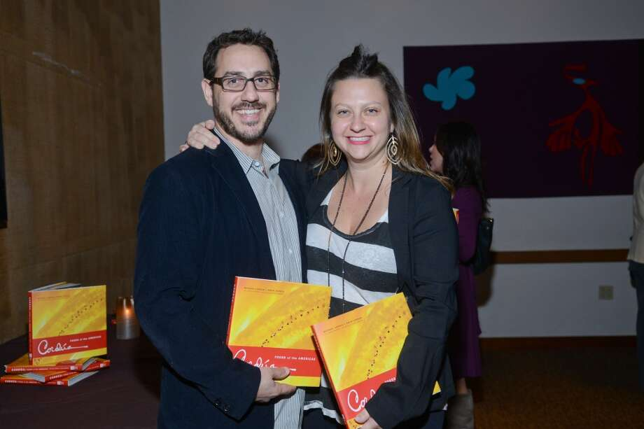 "Chris Vandewater and Julie Soefer who photographed ""Cordua: Foods of the Americas."" (Photo: Daniel Ortiz)"