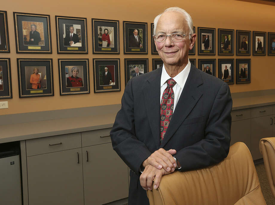 Richard Goldsmith is the founder of the San Antonio Area Foundation. Photo: Jerry Lara / San Antonio Express-News