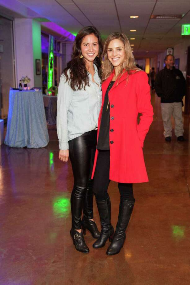 Bianca Moiseff and Lauren Jollymour at the UCSF Benioff Children's Hospital Concert For Kids fundraiser on November 19, 2013. Photo: Drew Altizer Photography/SFWIRE, Drew Altizer Photography / ©2013 by Drew Altizer, all rights reserved