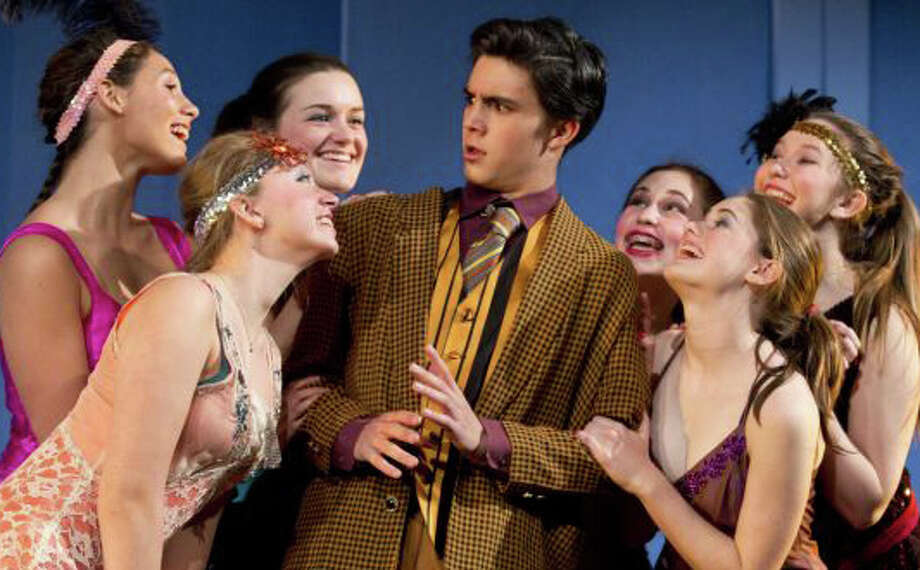 "The musical, ""Thoroughly Modern Millie,"" will be staged again this Friday and Saturday by the Staples Players at Staples High School. Photo: Contributed Photo / Westport News contributed"