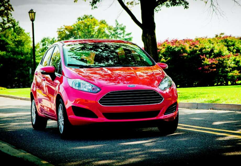 The Ford Fiesta's 1.0-liter Ecoboost engine uses turbochargers to boost power.