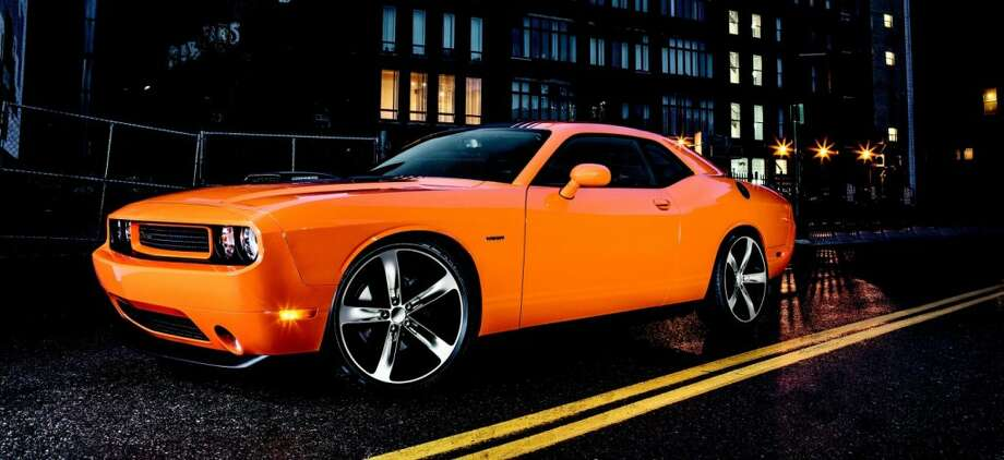 The 2014 Dodge Challenger boasts fuel-efficient optional cylinder shut-off features for freeway cruising.