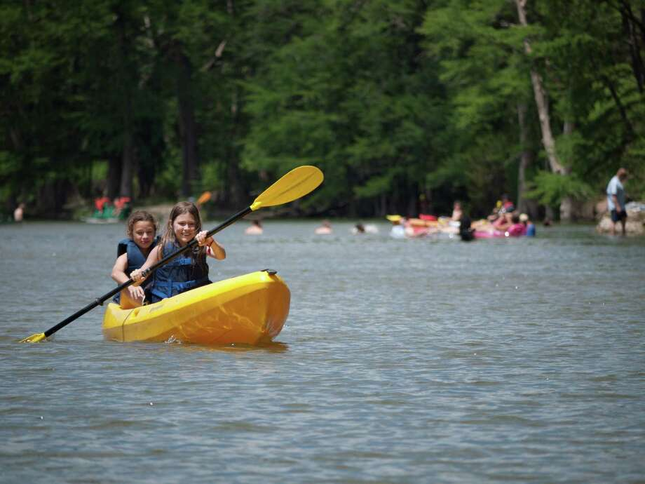 When the location, season and weather conditions allow, kayaking is one of the activities offered through Texas Outdoor Family workshops. Photo: Courtesy, Texas Parks And Wildlife