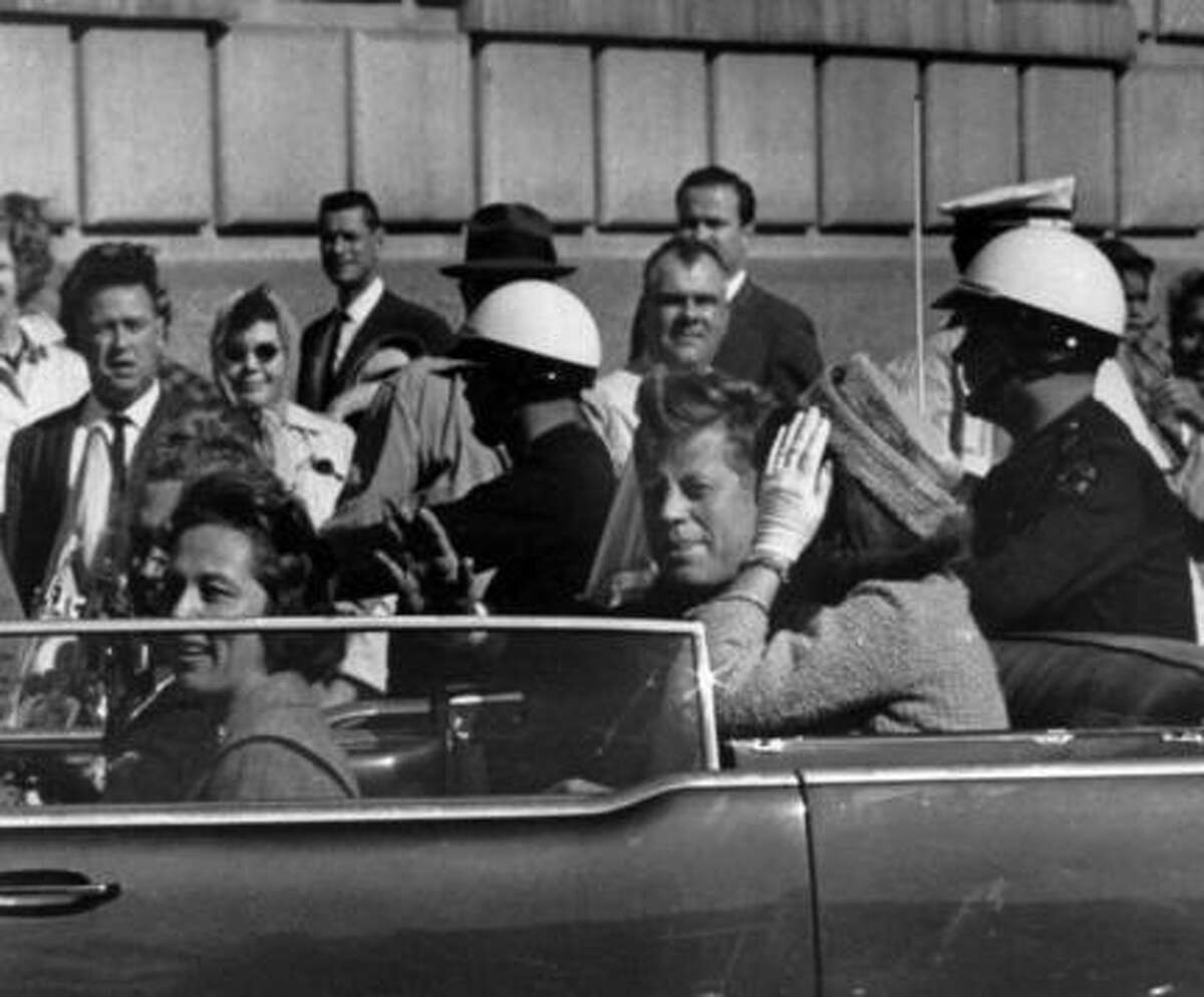 Tuesday, Nov. 22, 2016, is the 53rd anniversary of the assassination of President John F. Kennedy in Dallas. Some skeptics do not accept the Warren Commission's explanation that his death was the work of a lone gunman. Click through the gallery to see other popular conspiracy theories.