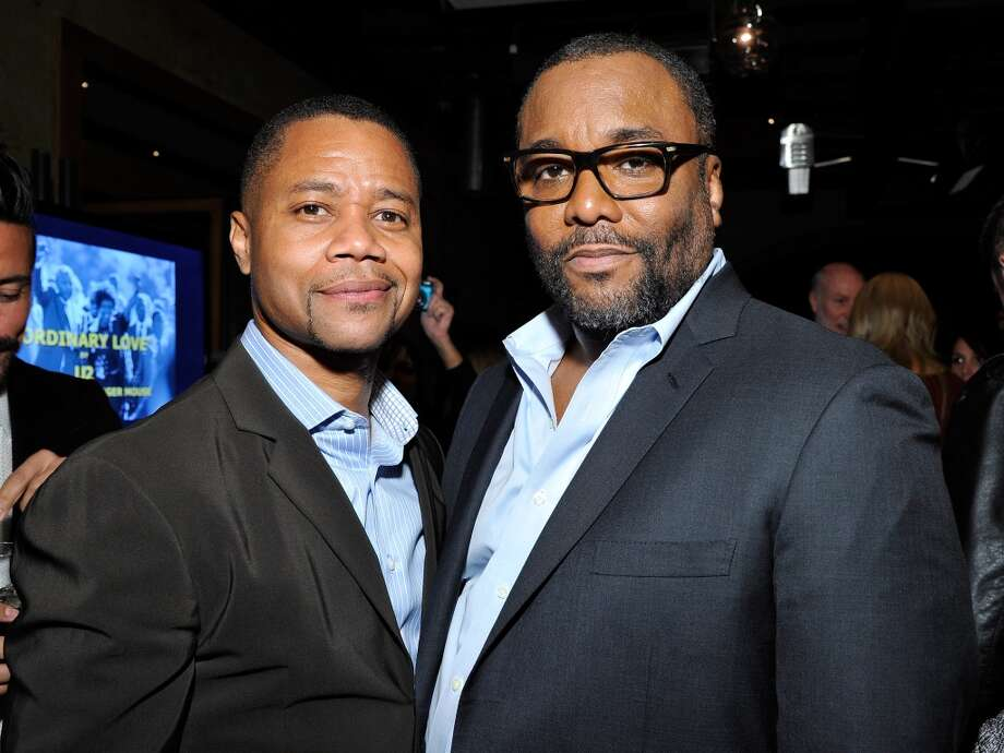 (L-R) Cuba Gooding, Jr. and Lee Daniels attend the Weinstein Company's holiday party at RivaBella on November 21, 2013 in West Hollywood, California. Photo: John Sciulli, Getty Images For The Weinstein Company