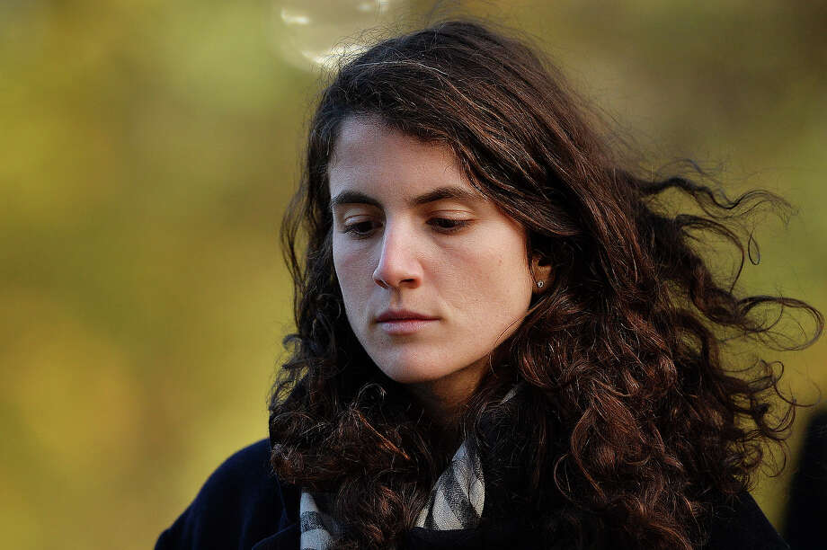 Tatiana Schlossberg, granddaughter of former US President John F Kennedy attends a memorial service in Runnymede, Surrey on November 22, 2013, to mark the 50th anniversary of his assassination. Photo: BEN STANSALL, AFP/Getty Images / 2013 AFP