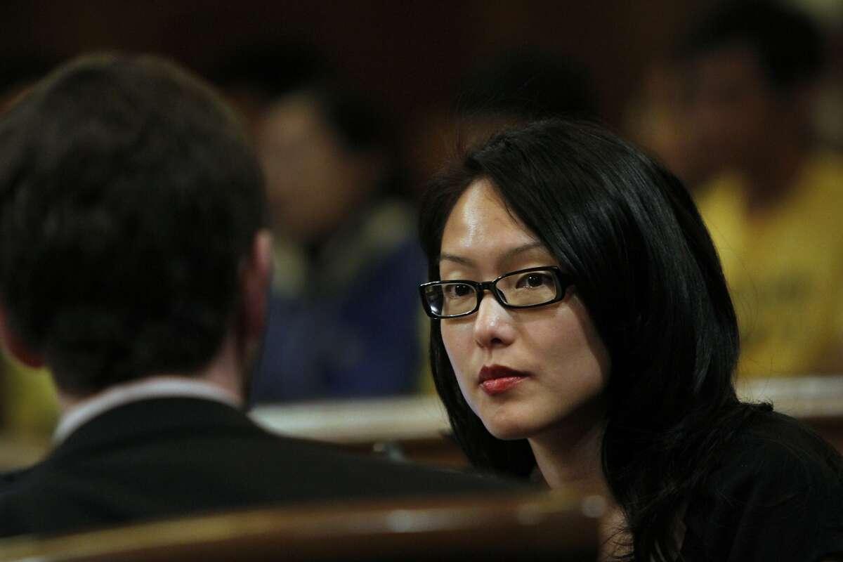 Supervisor Jane Kim is among Prop. K's architects.