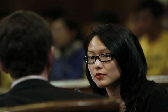 Supervisor Jane Kim during the Board of Supervisors meeting in San Francisco, Calif., Tuesday, June 19, 2012.
