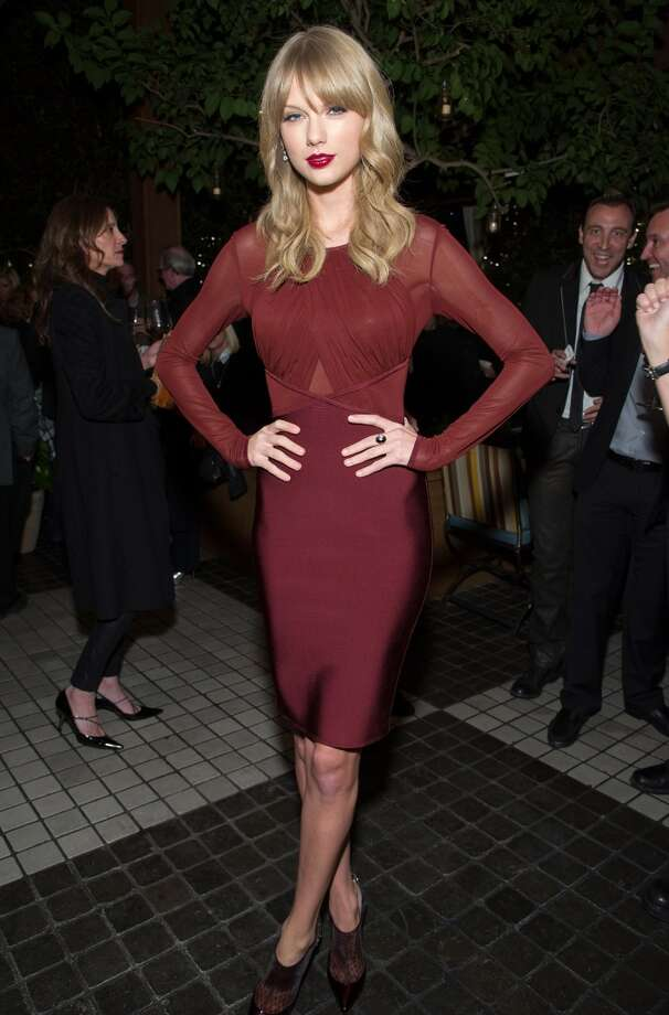 Taylor Swift attends the Weinstein Company's holiday party at RivaBella on November 21, 2013 in West Hollywood, California. Photo: John Sciulli, Getty Images For The Weinstein Company