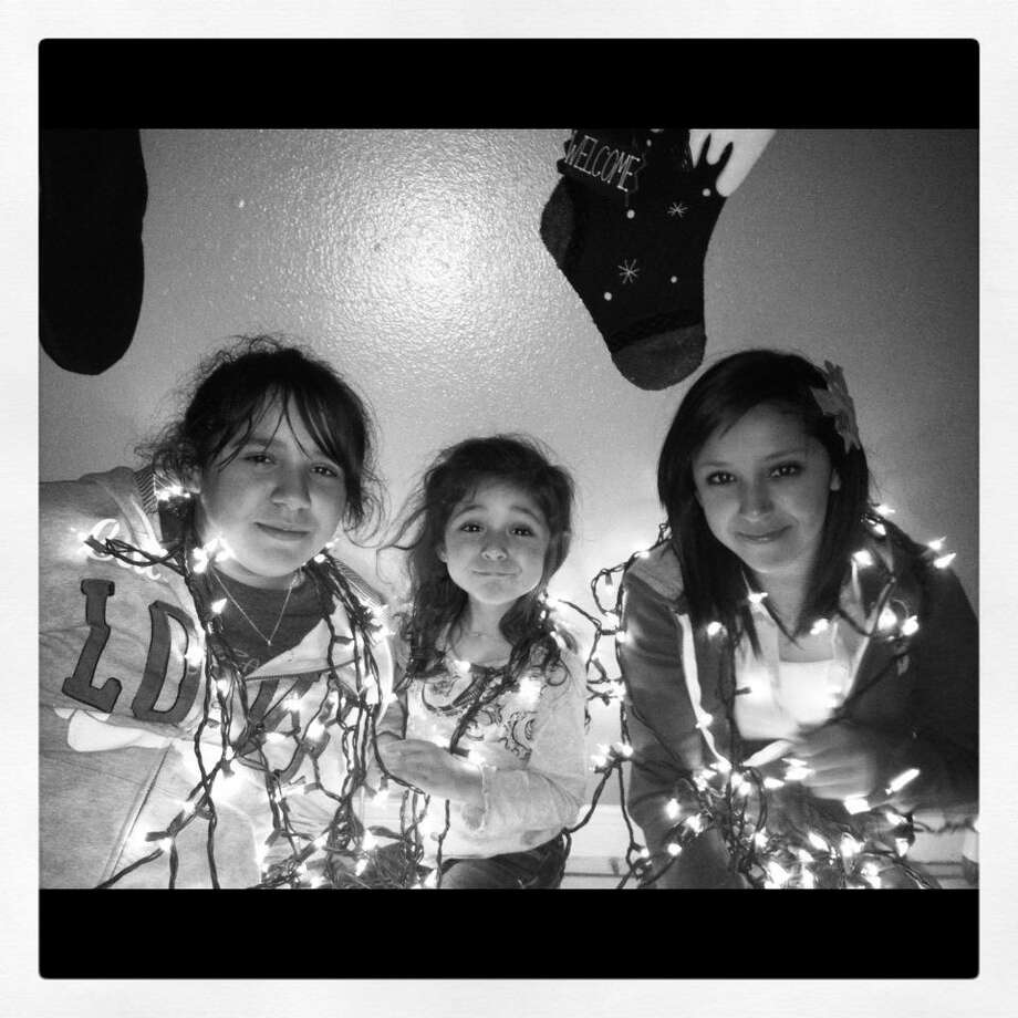 My three beautiful girls. The lights in my life.  Priscilla Barajaz