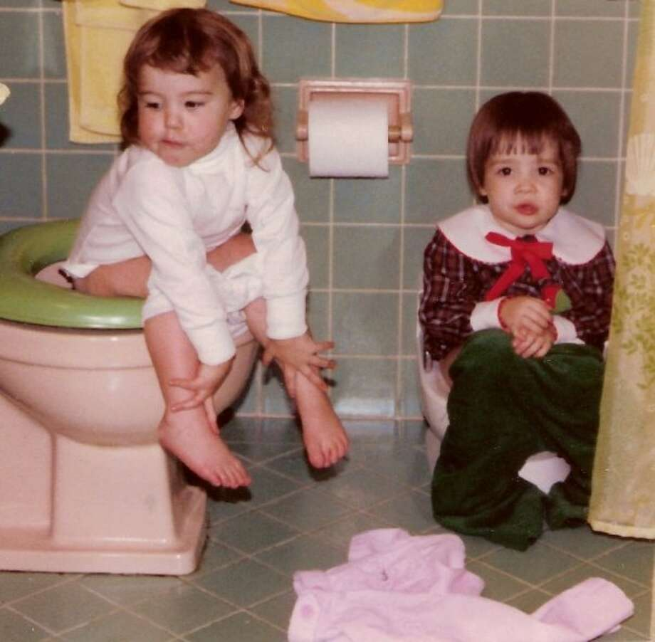 Good times with my cousin at our Grandparents house... probably Christmas 1980.