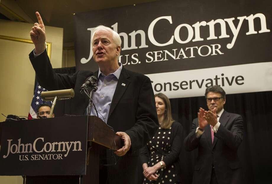 6. Senator John Cornyn, R-Texas  Amount received: $312,400 Photo: Rodolfo Gonzalez, Associated Press
