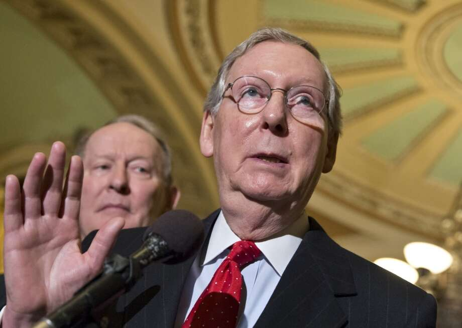 2. Senate Minority Leader Mitch McConnell, R-Ky.  Amount received: $384,700 Photo: J. Scott Applewhite, Associated Press