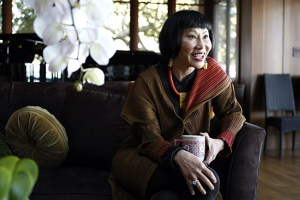 Amy Tan S Inspiration Is Always Close To Home Sfgate