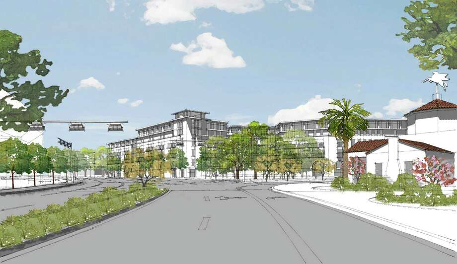 Dallas-based developer Alamo Manhattan has proposed building a $30 million, 210-unit mixed-use project at Broadway and Austin Highway in Alamo Heights. Source: Alamo Manhattan Photo: Alamo Manhattan