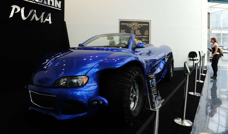 The Youabian Puma, displayed on November 21, 2013 at the LA Auto Show in Los Angeles, California, which opens to the public from November 22 to December 1. AFP PHOTO/Frederic J. BROWN        (Photo credit should read FREDERIC J. BROWN/AFP/Getty Images) Photo: AFP/Getty Images