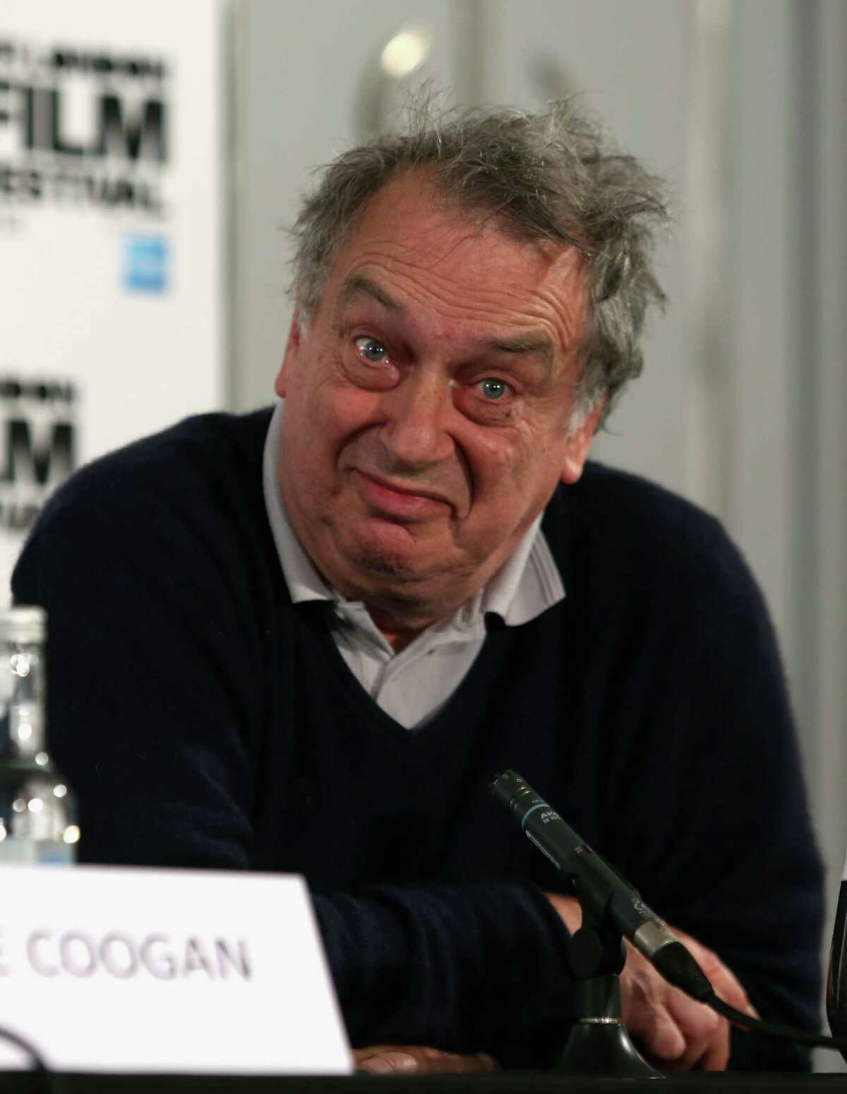 """LONDON, ENGLAND - OCTOBER 16: Director Stephen Frears attends the """"Philomena"""" press conference during the 57th BFI London Film Festival at Claridges Hotel on October 16, 2013 in London, England. (Photo by Tim P. Whitby/Getty Images for BFI)"""