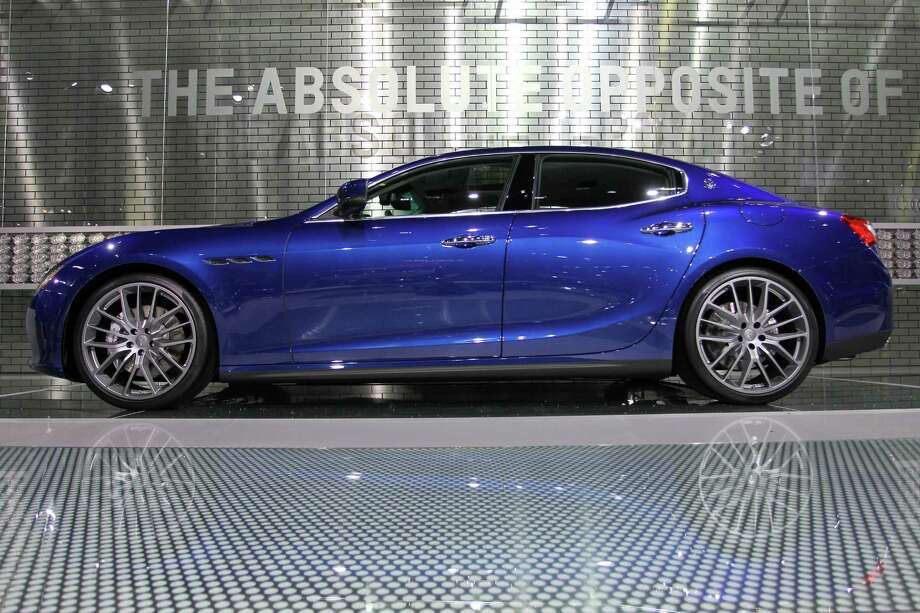 A Maserati Ghibli Q4 is displayed during media preview days at the 2013 Los Angeles Auto Show on November 20, 2013 in Los Angeles, California. Photo: David McNew, Getty Images / 2013 Getty Images