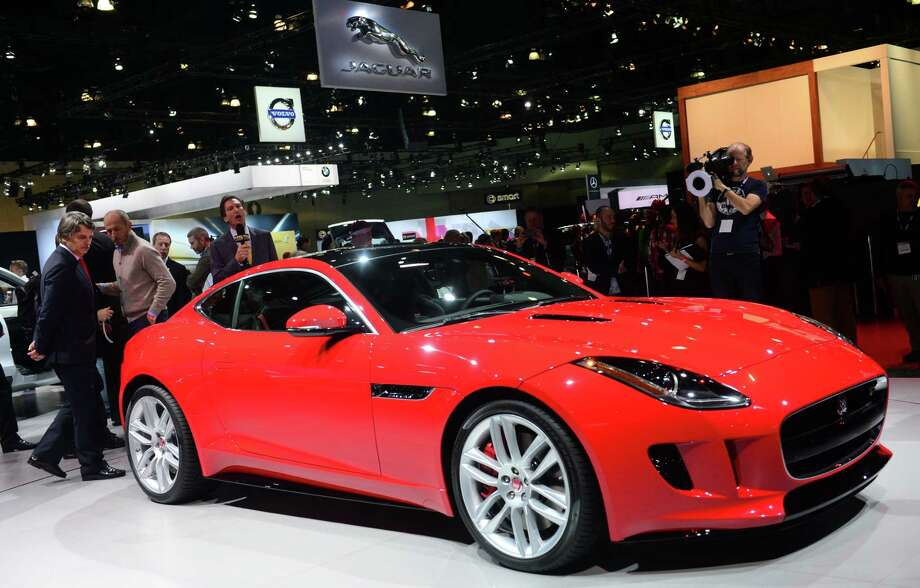 The Jaguar F-Type R is displayed on November 20, 2013 during media previews at the LA Auto Show in Los Angeles, California. Photo: FREDERIC J. BROWN, Getty Images / 2013 AFP