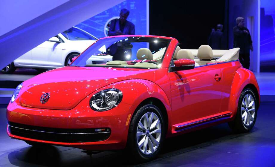 The 2014 Beetle Cabriolet TDI is displayed on November 20, 2013 during media previews at the LA Auto Show in Los Angeles, California. Photo: FREDERIC J. BROWN, Getty Images / 2013 AFP