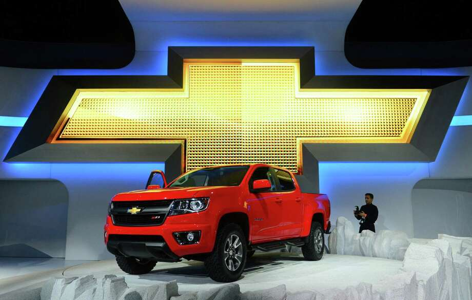 The Chevrolet Colorado z71 offroad truck is displayed on November 20, 2013 during media previews at the LA Auto Show in Los Angeles, California. Photo: FREDERIC J. BROWN, Getty Images / 2013 AFP