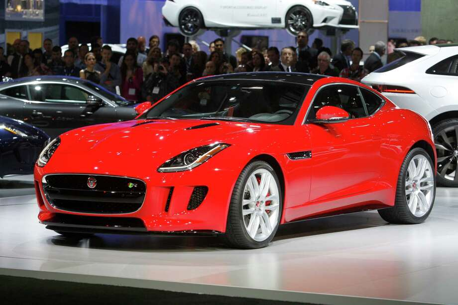 A Jaguar F-Type is displayed during media preview days at the 2013 Los Angeles Auto Show on November 20, 2013 in Los Angeles, California. Photo: David McNew, Getty Images / 2013 Getty Images