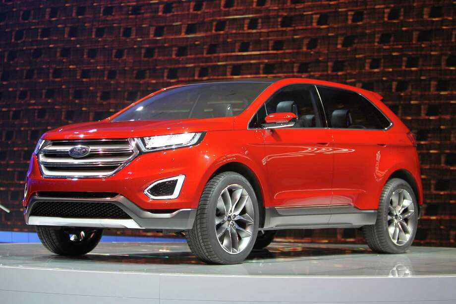 A Ford Edge concept vehicle is shown during media preview days at the 2013 Los Angeles Auto Show on November 20, 2013 in Los Angeles, California. Photo: David McNew, Getty Images / 2013 Getty Images