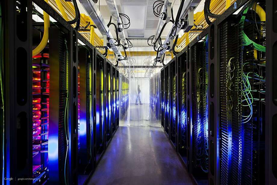 The National Security Agency potentially has access to data centers operated by Google and Yahoo. Photo: Connie Zhou, Associated Press