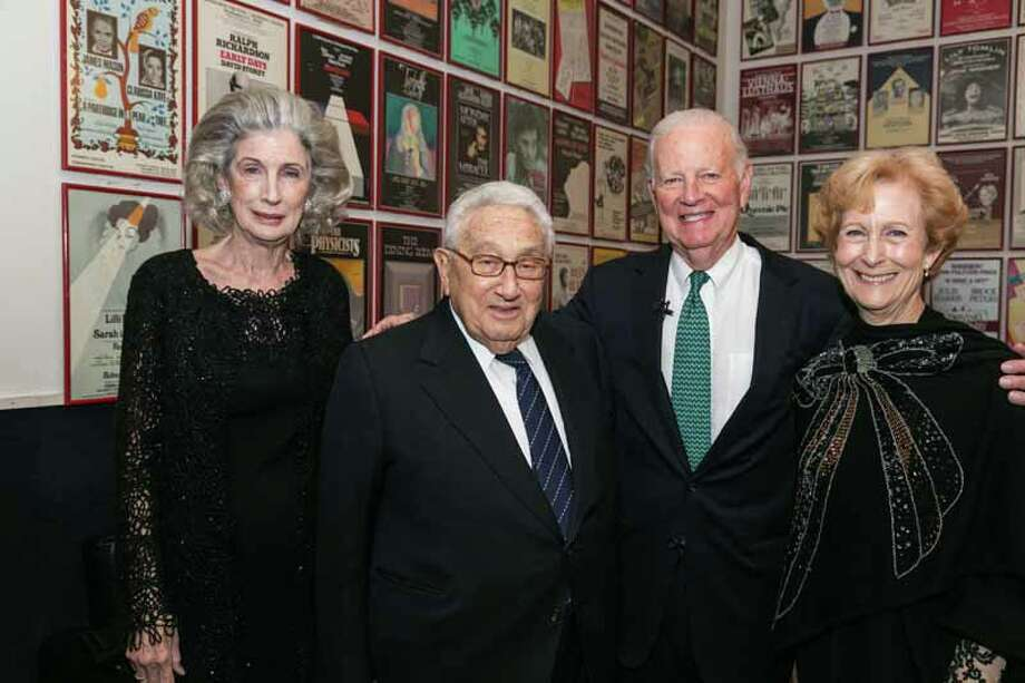 Nancy and Henry Kissinger and James and Susan Baker Photo: Shmulik Almany