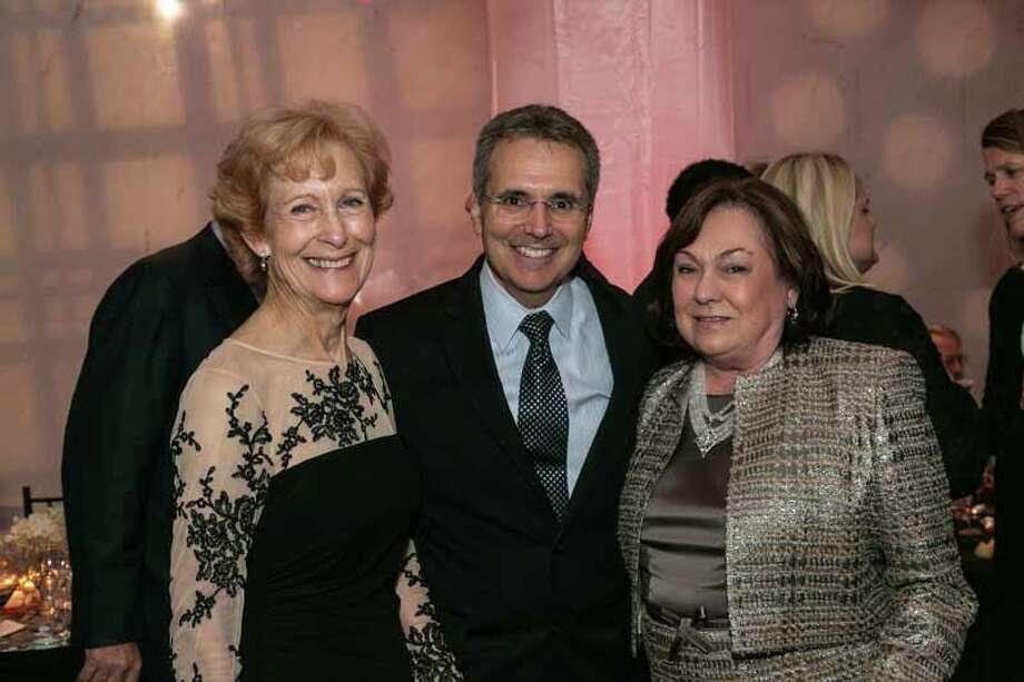 Susan Baker, Ron DePinho and Rose Cullen Photo: Shmulik Almany