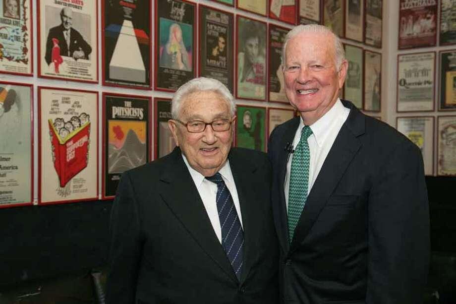 Henry Kissinger and James A. Baker III Photo: Shmulik Almany