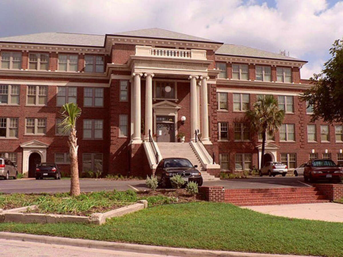 The former Jefferson Davis Hospital at 1101 Elder St., is now the Elder Street Artist Lofts.