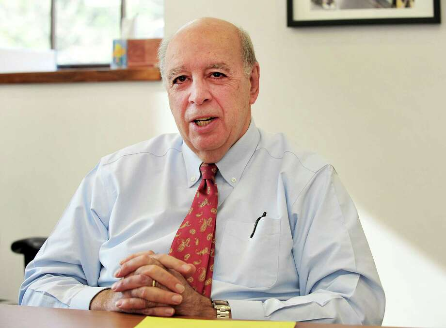 John Reed,  interim superintendent of schools in Newtown, Conn. Photo: Michael Duffy / The News-Times