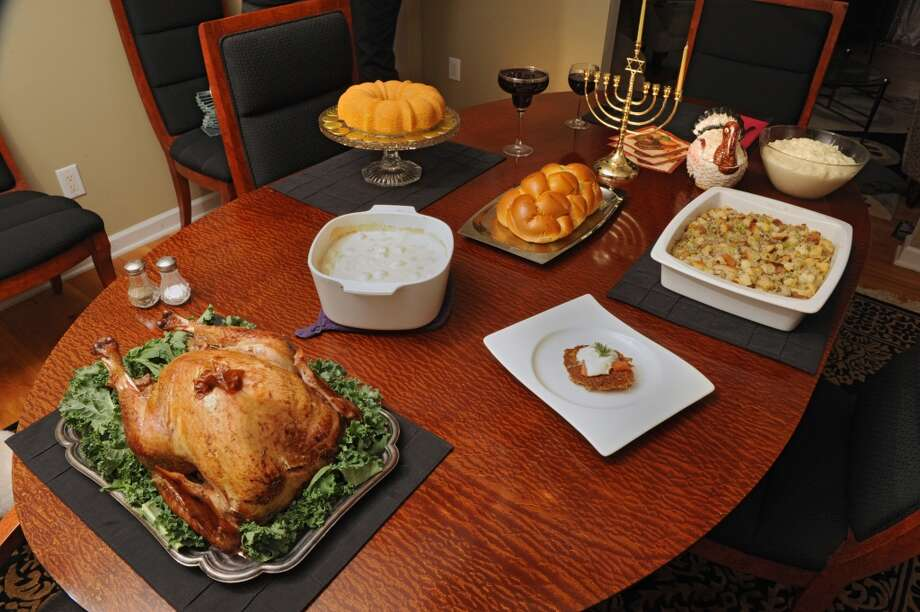 7. Re-gift leftovers. Since the festival of lights lasts eight nights and involves children getting a present for each night, why not re-gift your Thanksgiving feast for the rest of Hanukkah? Photo: Lori Van Buren, Albany Times Union