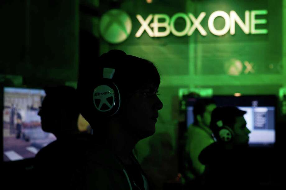 Visitors play on Xbox One video game consoles during the Microsoft Corp. midnight launch event in Los Angeles, Calif., on Nov. 21. It's No. 5 on the list. Photo: Patrick T. Fallon, Courtesy / © 2013 Bloomberg Finance LP